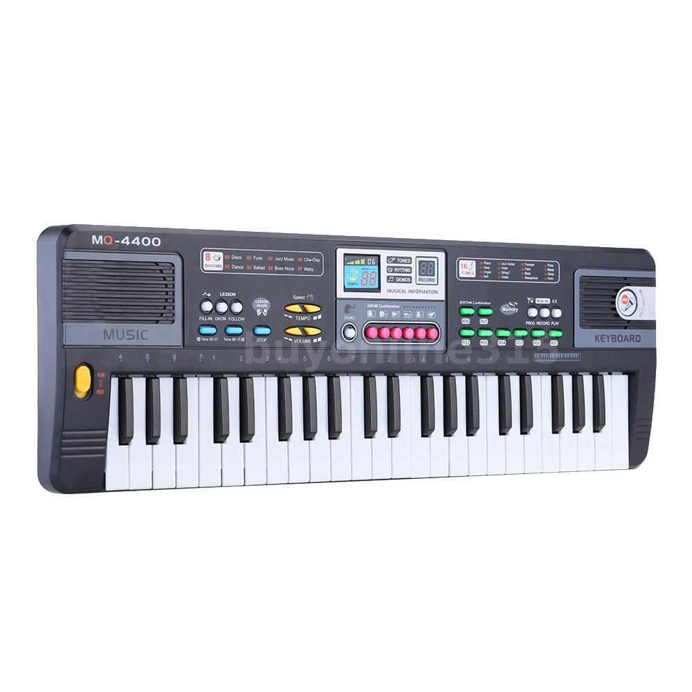 44 tasten elektronisches keyboard musik spielzeug f r kinder babys anf nger a5u2 ebay. Black Bedroom Furniture Sets. Home Design Ideas